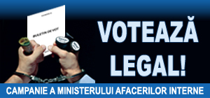 Voteaza legal!